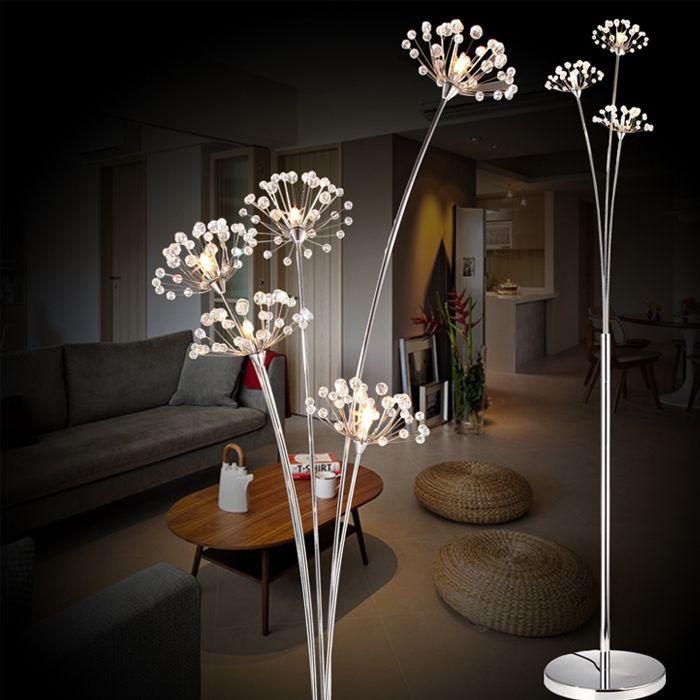 Moderna taraxacum noche dormitorio l mpara de pie l mpara de pie cristal ikea l mparas de pie - Lamparas pared ikea ...