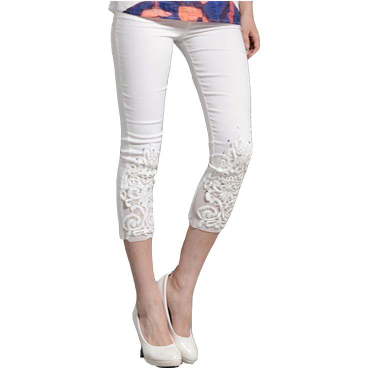 cropped leggings ladies capri leggings white pencil trousers free ...