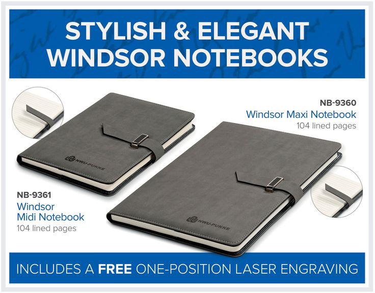 Stylish & Elegant Windsor Notebooks – Bell Jar Pty Ltd