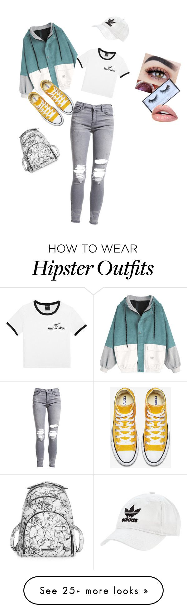 """""""Sporty glam"""" by brynfigg on Polyvore featuring Kendall + Kylie, adidas Originals and AMIRI"""