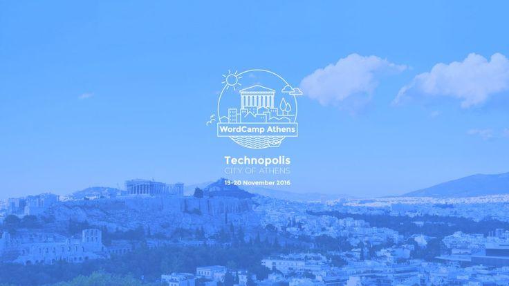 Είναι γεγονός! Η ελληνική κοινότητα του WordPress ανακοίνωσε επίσημα το πρώτο WordCamp Athens 2016. https://2016.athens.wordcamp.org