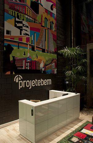 Projeto do escritório de arquitetura Projetebem