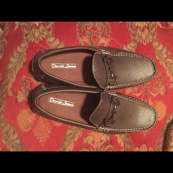 Made for a casual day at the office! Men's Brown loafer with a buckle! Brand new! Shoes Flats & Loafers