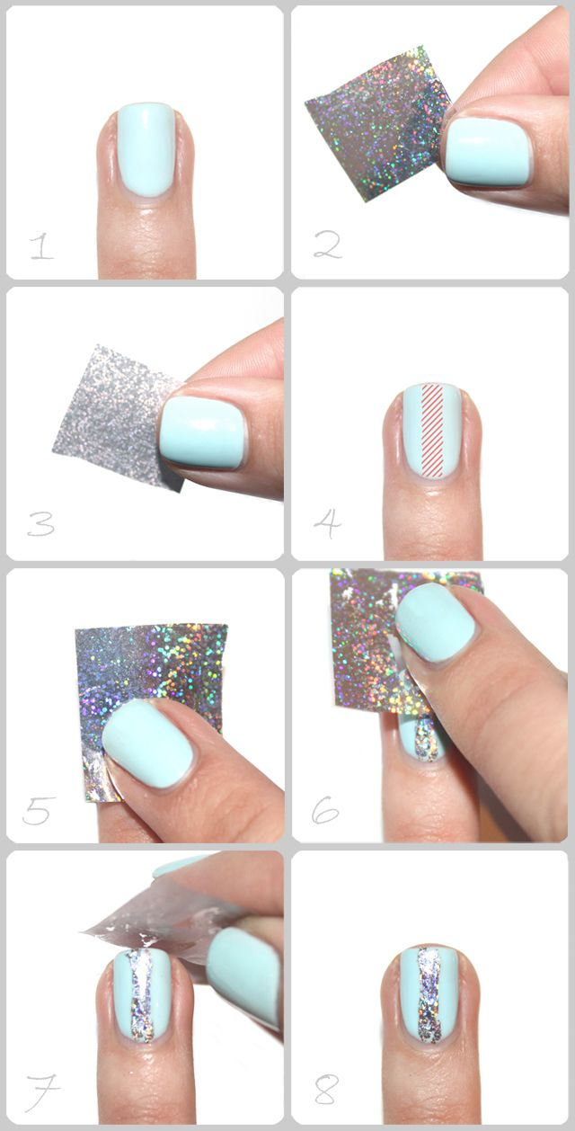 17 best Foil nail art images on Pinterest | Foil nails, Nail art ...