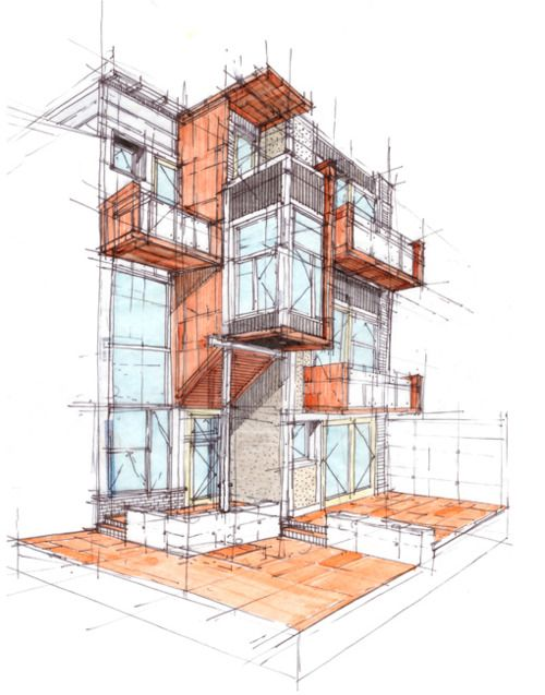I like the detailing that's gone into this structural drawing.