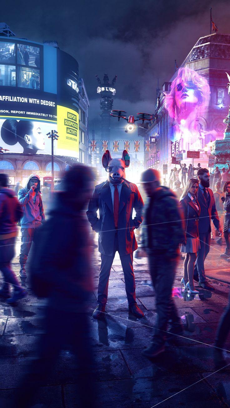 1080x1920 Watch Dogs Legion, 2020 games, xbox one