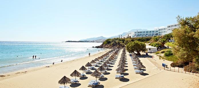 Makrigialos, Kreta. En vacker pärla som passar både barnfamiljer och andra som söker en lugn och skön resa bortom turiststråken.