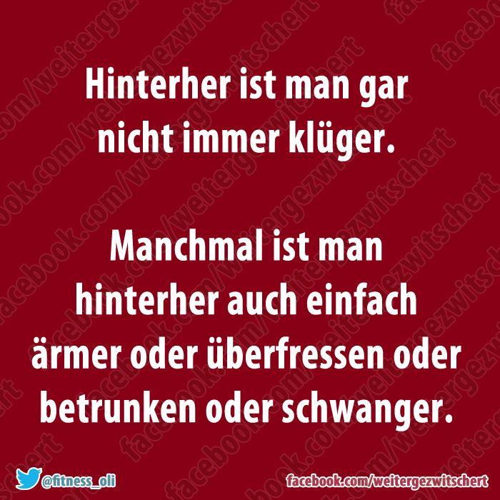 Das ist so was von wahr!!!