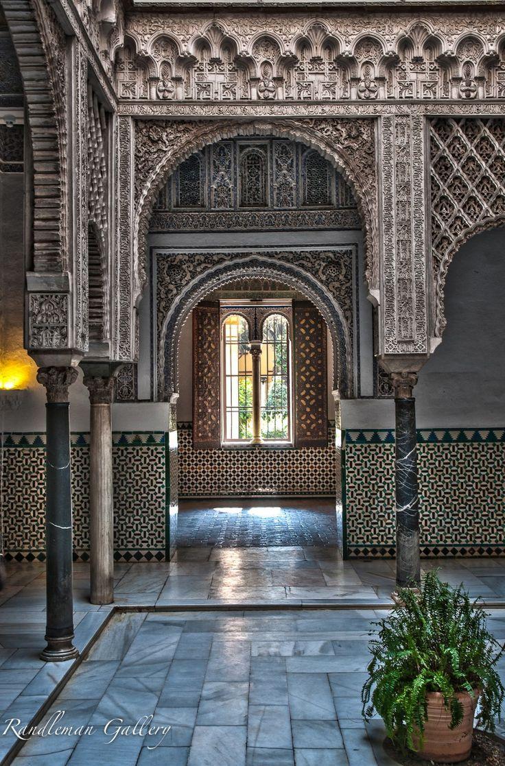 Patio de las Munecas - Islamic Architecture in Spain.  By: Brad Randleman #Architecture