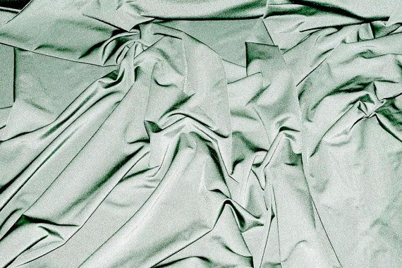 Milliskin Spandex Lycra Fabric Silver . 4 way stretch... dance, pageant, gymnastics, costume, formal wear.. by the yard
