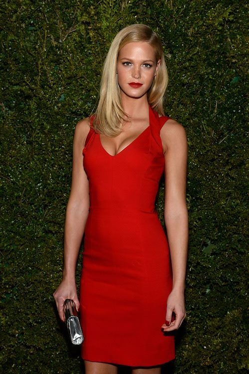 Erin Heatherton Red Formal Dress