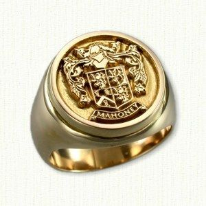 anillos de hombre en oro - Buscar con Google