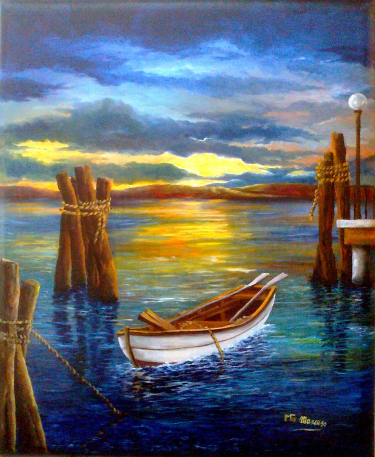 Tra le briciole (Pintura), 60x3x50 cm por Giuseppe Mancuso Quadro dipinto dal pittore contemporaneo Giuseppe Mancuso. Realizzato nel 2011 con la tecnica ad olio su tela 50x60