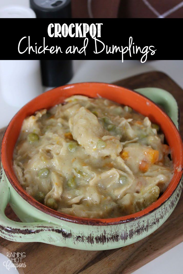 *Get more RECIPES from Raining Hot Coupons here* *Pin it* by clicking the PIN button on the image above! Repin It Here If you need a quick and easy dinner to throw in the crock pot, then definitely try this Crockpot Chicken and Dumplings recipe. You can also usually buy pre-chopped celery, onions and carrots at …