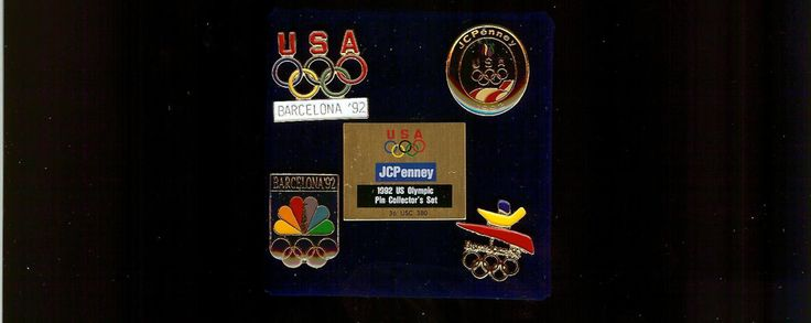 1992 JC PENNEY U.S. Olympic Pin Collector's Set New in the Original Box Barcelona Spain Free Shipping!! by consignments on Etsy