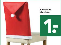 Kerst-stoel-hoes