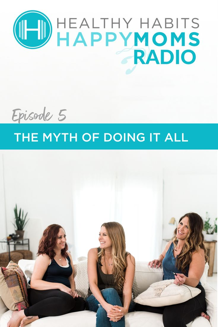 """In today's supermom culture, how do you get past the unhappiness of feeling like a failure when compared to the lives of your friends on social media? Two of the Healthy Habits Happy Moms and Balance365 co-founders Annie Brees and Jennifer Campbell talk about how damaging it is to our mental health when we try to measure up to an impossible standard of Pinterest perfection, and provide suggestions on how to let go of the shame of not doing it all and embrace """"good enough""""."""