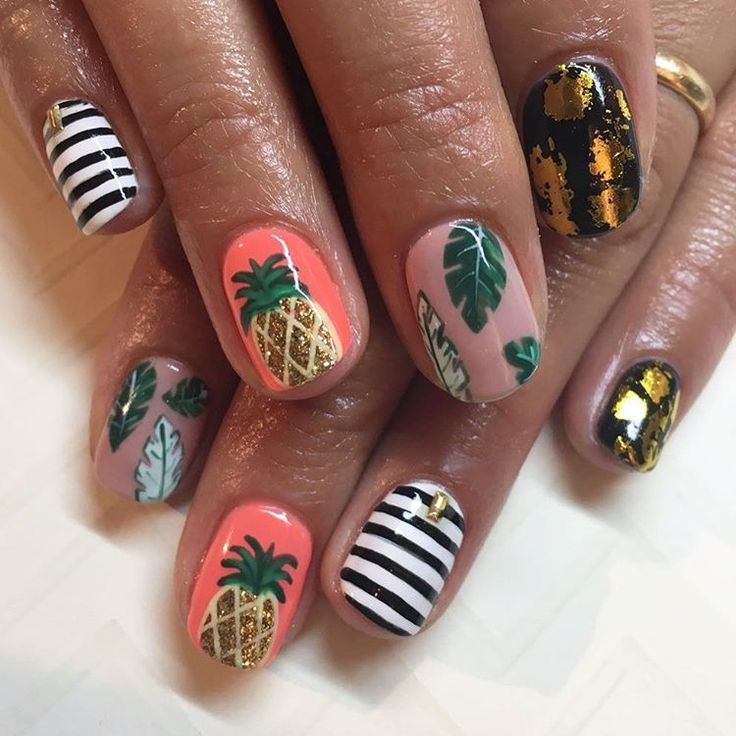 The 25+ best Vacation nails ideas on Pinterest   Summer ...