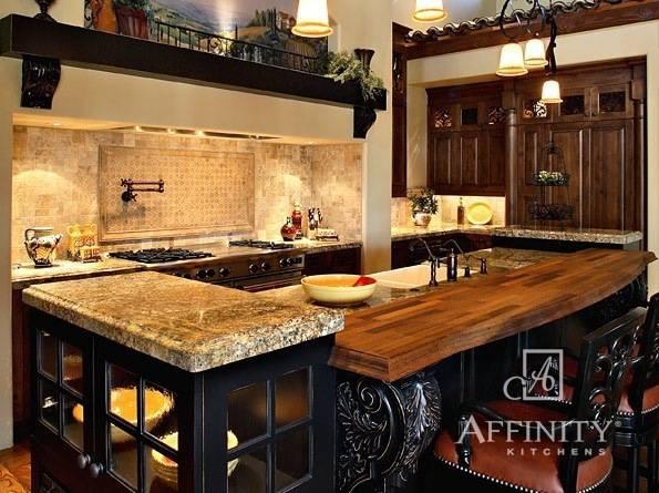 Olde World Kitchen By Affinity Kitchens