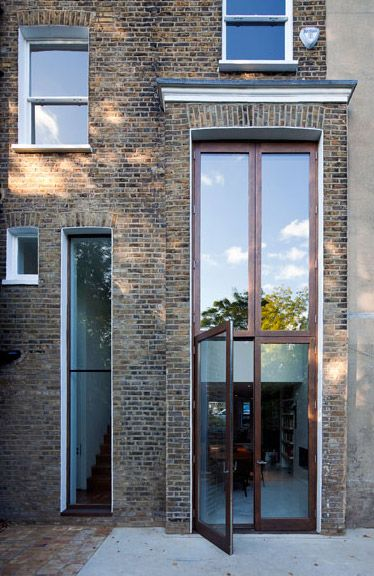 1000 images about long narrow windows on pinterest log for Tall narrow windows