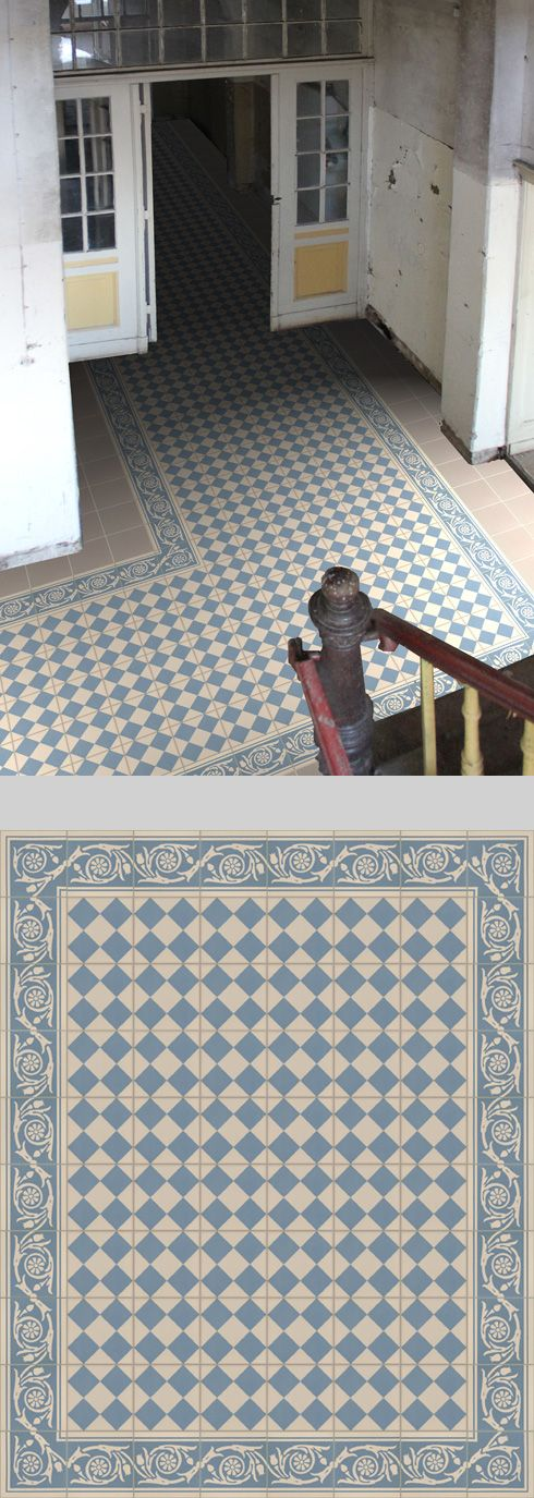 Potential tile flooring for the lobby
