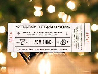 40 Awesome Ticket Designs   Top Design Magazine - Web Design and Digital Content