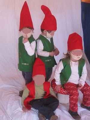 free pattern: weskit for kids dwarfs costume Zwergenkostüm, Weste für Kinder, kostenloses Schnittmuster