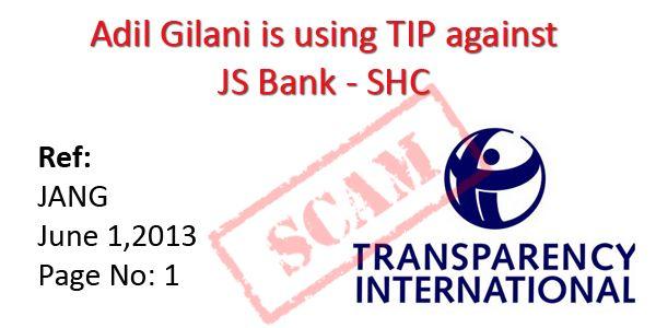 Adil Gilani using TIP