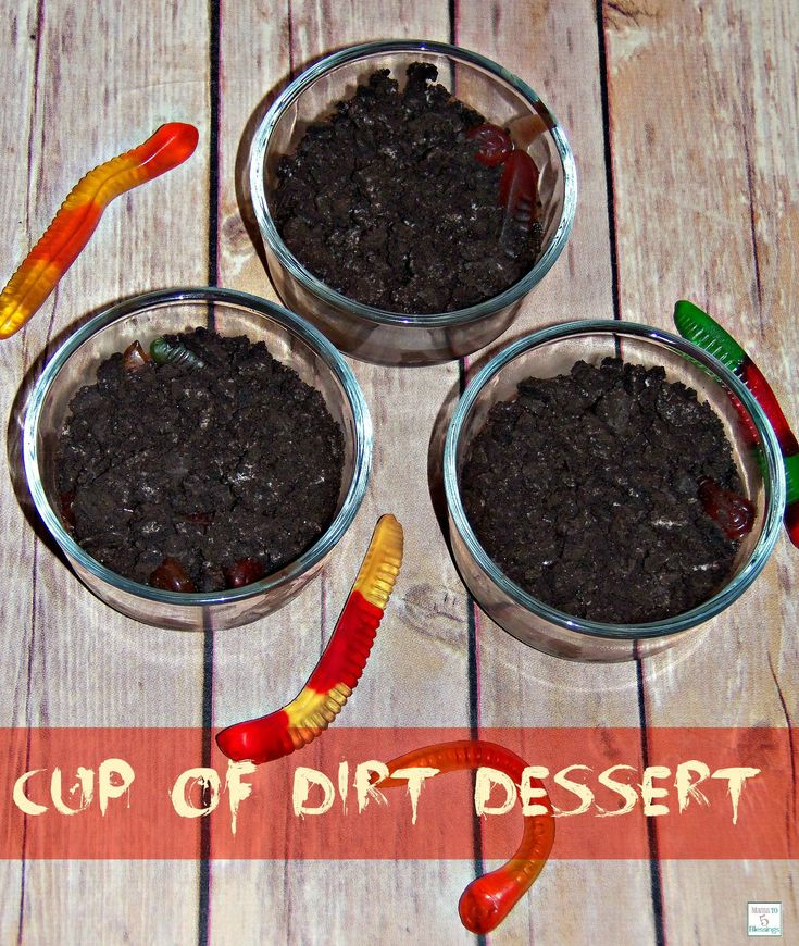 Check out cup of dirt dessert it 39 s so easy to make for What is dirt made out of