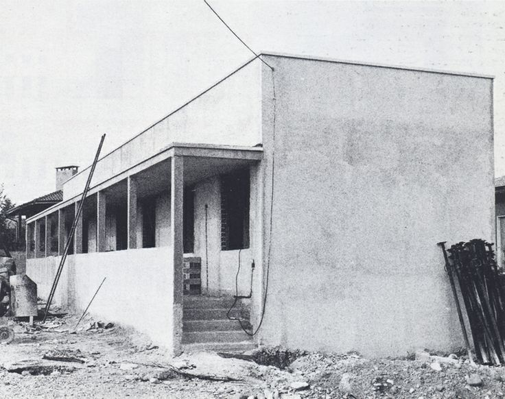 Giorgio Grassi /// Single Family House /// Fagnano Olona, Varese, Italy /// 1978