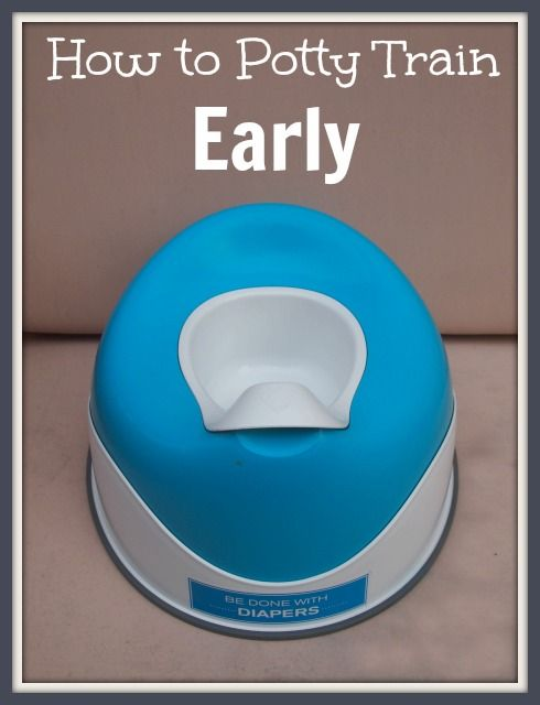 Potty Training: How I Get My Kids to Use the Potty So Early