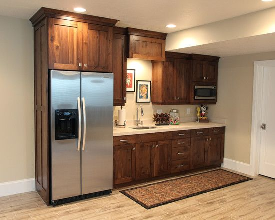 Basement Kitchen Design Impressive Inspiration