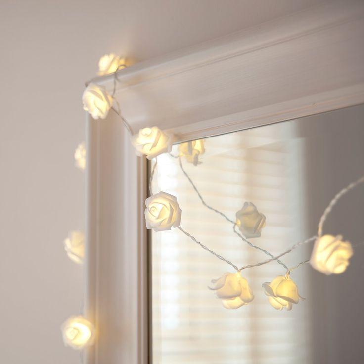 Roses Rosebud Fairy Boho LED String Lights