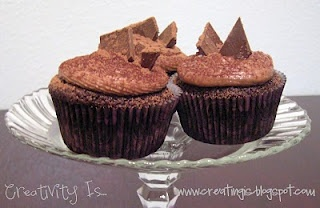 Chocolate Nutella Bliss Cupcakes