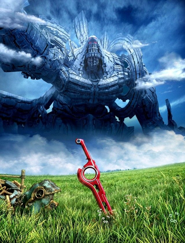 #ARTWORK: Xenoblade Chronicles-FANTASTIC GAME cant wait for 2