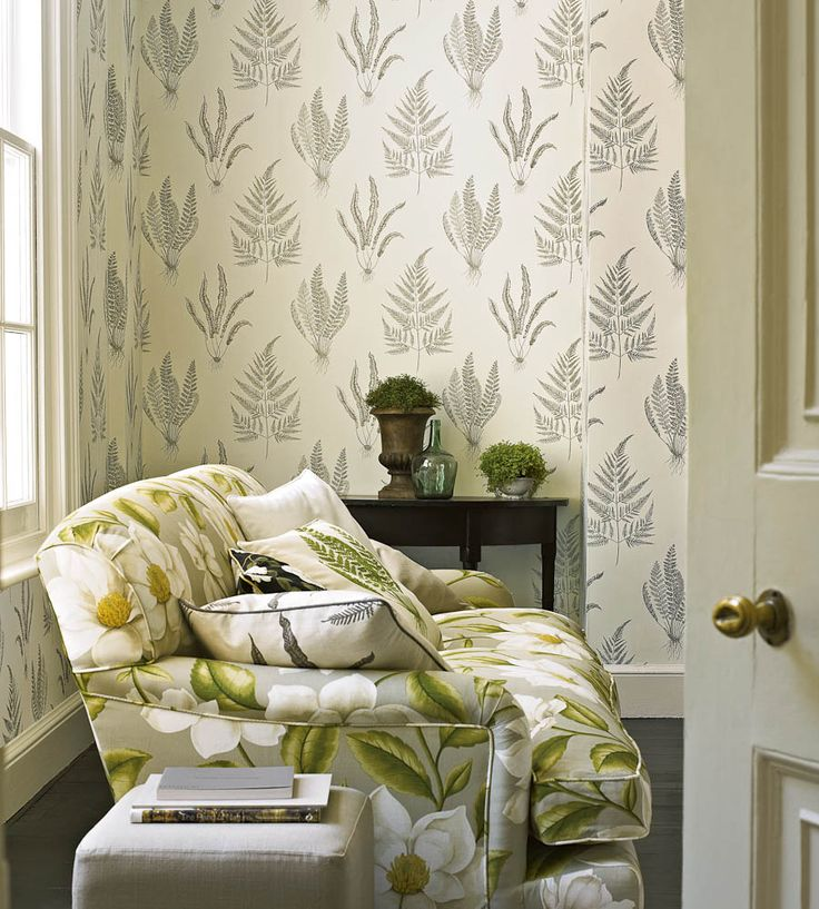 Woodland Ferns Wallpaper by Sanderson | Jane Clayton