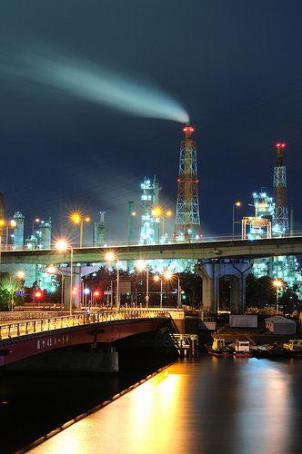 堺コンビナート Sakai Industrial Complex