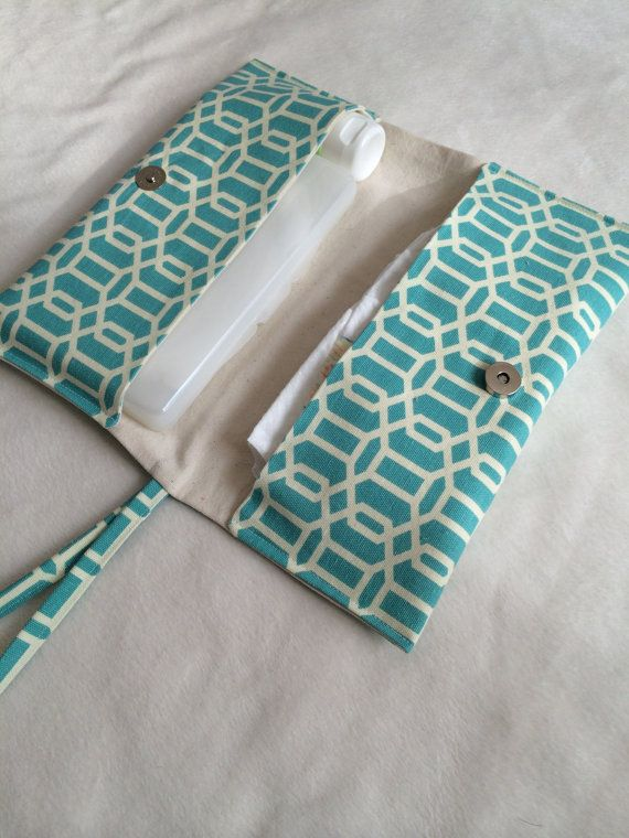 Two Pocket Diaper Clutch on Etsy, $20.00. would love one of these to keep in my purse