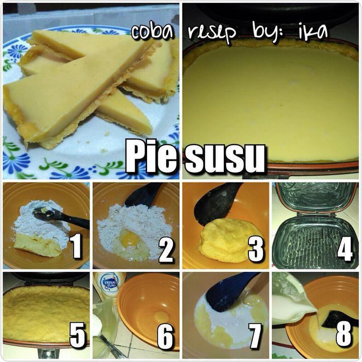 Coba Resep Pie susu