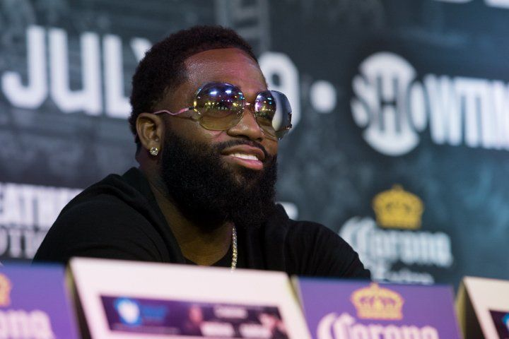 """Adrien Broner fires shots at """"b*tch ass"""" Amir Khan, takes aim at Floyd Mayweather also #News #allthebelts #boxing"""