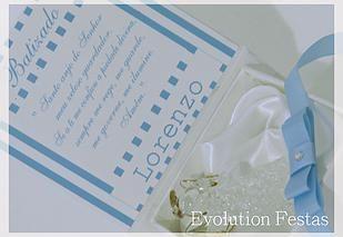 Evolution Festas | Batizado