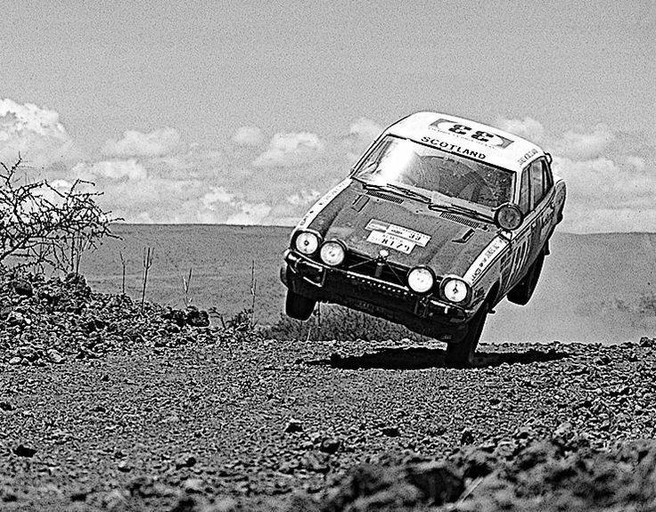 Mitsubishi Lancer East African Safari Rally 1975