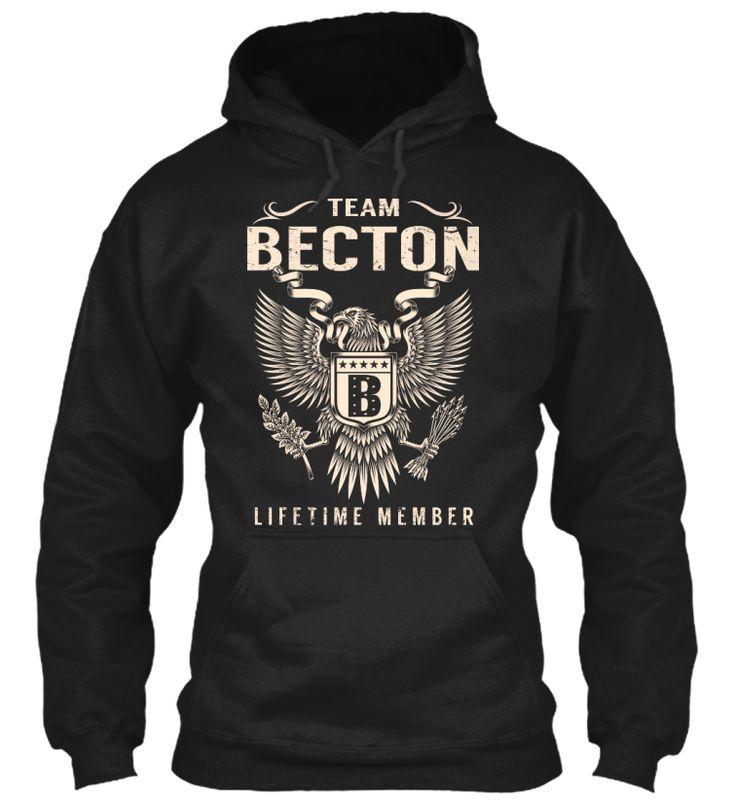 Team BECTON Lifetime Member #Becton