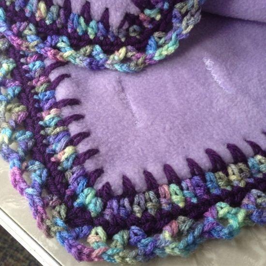 Crochet Blanket Edge All My Crocheted Blanket Edges Are