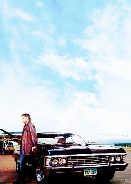 '67 Chevy Impala - Supernatural landrocket..Love the show and the car..ahem...she's awesome