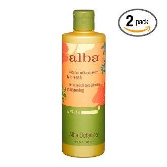 Alba coconut shampoo