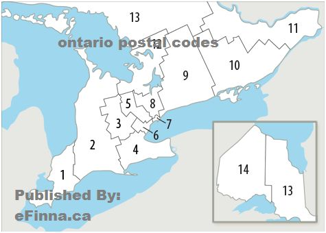 Postal  codes derives the word area means have to say that through the postal code you have to search the place where you have to go and also you search the zip code of that area, in ontarion if you want to see the onterio postal code then u search the zip code and then you get it the right message to owner