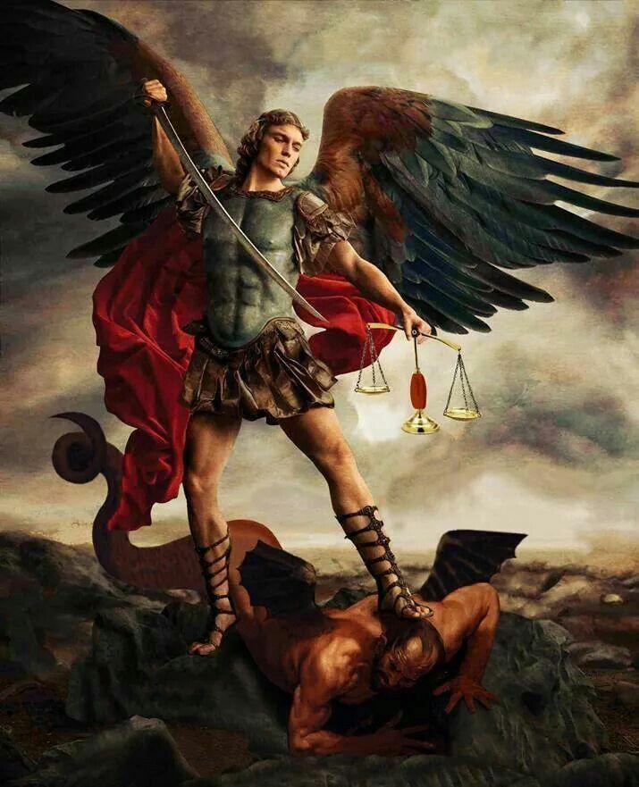 St Michael Archangel from the dominion tv series http://www.imdb.com/title/tt3079768/