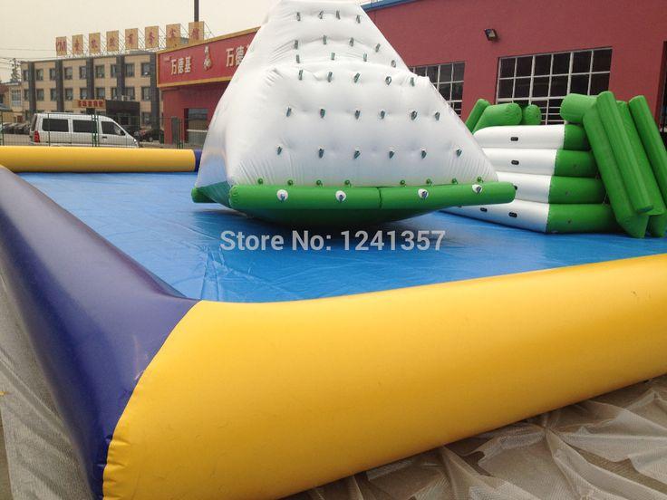 Надувные айсберг, вода игры, надувные восхождение водные виды спорта, новые гигантские Надувные ледолазание/надувные айсберг