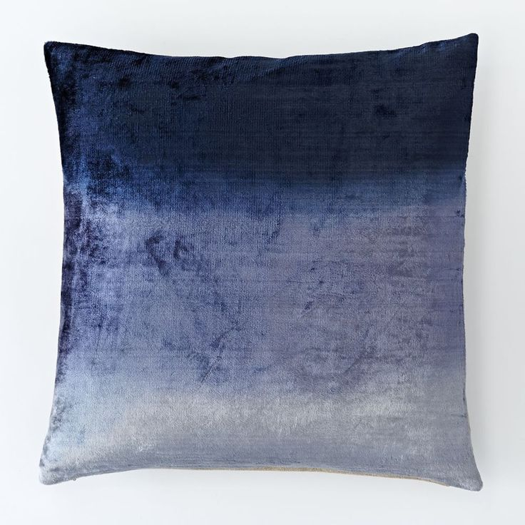 Ombre Velvet Cushion Cover - Nightshade